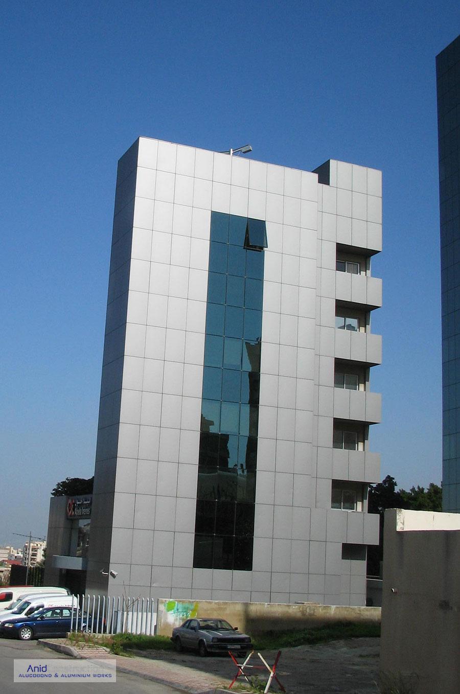 Abella Building Aluminium Alucobond Cladding Lebanon