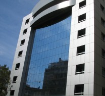 Allied Bank ANID CONSTRUCTION CURTAIN WALLS ALUMINIUM FACADE