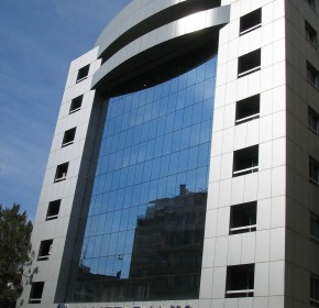 Allied Bank ANID CONSTRUCTION CURTAIN WALLS ALUMINIUM FACADE
